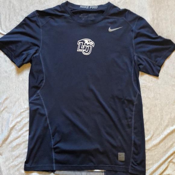 2de319a7 Nike Shirts | Pro Combat Liberty Flames Fitted Tshirt L | Poshmark